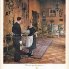 """1961 Seagram's Whisky Ad """"The last guest"""""""