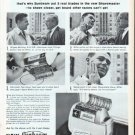 "1961 Sunbeam Shavemaster Ad ""Nothing shaves like a blade"""