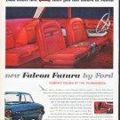 """1961 Ford Falcon Ad """"new Falcon Futura"""""""