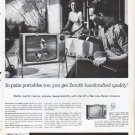 "1961 Zenith TV Ad ""patio portables"""