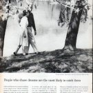 "1961 Foundation for Commercial Banks Ad ""chase dreams"""