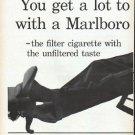 "1961 Marlboro Cigarettes Ad ""You get a lot to like"""