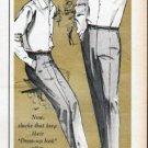 """1961 Farah Slacks Ad """"Farahcron"""""""