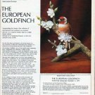 "1979 The Royal Society for the Protection of Birds Ad ""The European Goldfinch"""