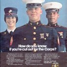 """1979 Marine Corps Ad """"How do you know"""""""