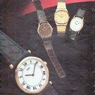 """1979 Seiko Watch Ad """"Seiko Dress Quartz Collection"""""""