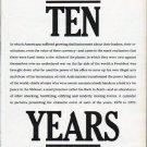 """1979 1970s Article """"Ten Years"""""""