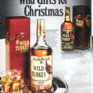 "1979 Wild Turkey Whiskey Ad ""Wild Gifts"""