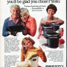 """1979 Presto Ad """"To give or keep"""""""