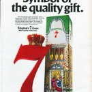 """1979 Seagram's 7 Ad """"Symbol of the quality gift."""""""