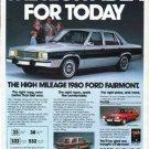 """1980 Ford Ad """"The right idea"""""""