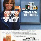 "1979 Comtrex Ad ""more kinds of relief"""
