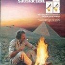 "1979 Camel Cigarettes Ad ""Discover Camel Lights"""