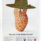 """1966 Skippy Peanut Butter Ad """"Top Grade nut"""""""