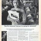 "1966 Mutual of New York Ad ""Buy life insurance?"""
