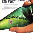 "1966 Canada Dry Ad ""The Only Soft Drink"""