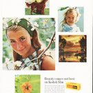 "1966 Kodak Ad ""Beauty comes out best"""