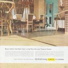 """1959 Armstrong Floors Ad """"Never before"""""""