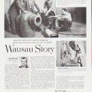 """1959 Employers Mutuals of Wausau Ad """"Wausau Story"""""""