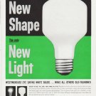 "1959 Westinghouse Ad ""New Shape"""
