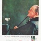 """1959 Smirnoff Vodka Ad """"Limey Drink"""""""