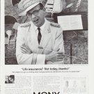 "1964 Mutual of New York Ad ""Life insurance?""  2555"