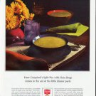 "1964 Campbell's Soup Ad ""the little dinner party""  2564"