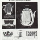 "1964 General Electric Ad ""coffee maker so sensitive""  2569"