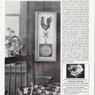 "1964 Curtis Publishing Company Ad """"Weather Vane"" Barometer""  2570"