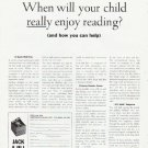 """1964 Jack and Jill Magazine Ad """"your child""""  2572"""