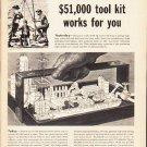 "1953 Standard Oil Company Ad ""tool kit""  2579"