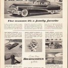 """1953 Buick Ad """"Five reasons"""" ... (model year 1953)  2581"""