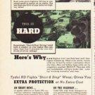 """1953 Tydol Motor Oil Ad """"this is easy""""  2582"""