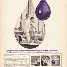 "1953 Royal Triton Ad ""Purple motor oil""  2585"