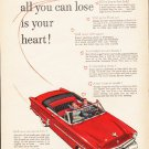 "1953 Ford Crestline Ad ""Take a Test Drive"" ... (model year 1953)  2587"