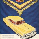 """1953 Cadillac Ad """"so surprised"""" ... (model year 1953)  2593"""