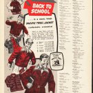 "1953 Pacific Trail Ad ""Back To School""  2595"