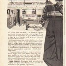 "1953 Masonite Ad ""easy does it""  2602"