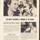 "1953 Pacific Telephone Ad ""The Biby's Telephone""  2603"