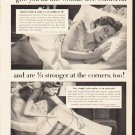 """1953 Lady Pepperell Ad """"Snug Fit Sheets""""  2607"""