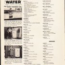 "1953 General Electric Ad ""Hot Water""  2629"