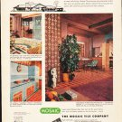 "1953 Mosaic Tile Ad ""Tile bids you welcome""  2633"