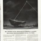 """1961 Bell Telephone System Ad """"Far Advanced""""  2644"""
