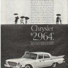"1961 Chrysler Ad ""spread the news"" ~ model year 1961  2645"