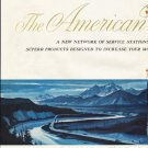 "1961 American Oil Company Ad ""The American Way""  2661"