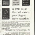 "1961 Holiday Pocket Guides Ad ""From your travel agent""  2664"