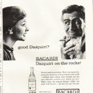 "1961 Bacardi Rum Ad ""good Daiquiri?""  2680"