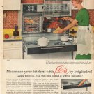 "1961 Frigidaire Ad ""Modernize your kitchen""  2698"