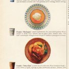"""1961 Fonda Container Company Ad """"look what you can serve""""  2703"""