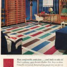 "1961 Kentile Floors Ad ""Most comfortable underfoot""  2704"